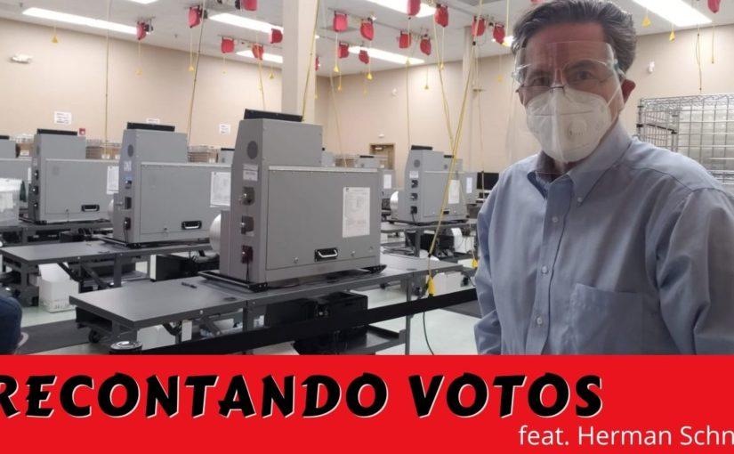155 Recontando votos, feat. Herman Schnell